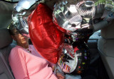Balloons in the Backseat
