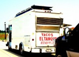 Roach Coach (Urban Dictionary - A catering truck which frequents blue collar places of work)