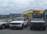 Snacks Coffee and Used Cars