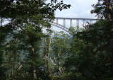 Seeing the Bridge from the Trail