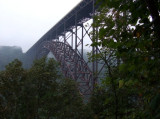 Foggy Morning at the New River Bridge