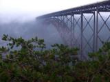 Foggy Morning New River Bridge
