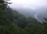 Wet Fog Over the New River Gorge