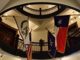 Flags in the Ft . Bend County Courthouse