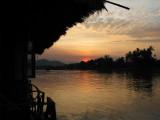 Sunset at Four Thousand Islands-Mekong River