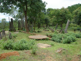 Standing stones or menhirs in Houaphanh Province