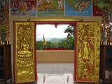 Through Wat doors