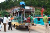 Transport on island.