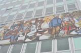 Socialist wall mural