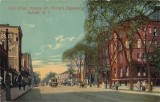 Main St Showing Dr. Pierce's Dispensary