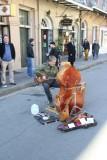 An Interesting Street Performer
