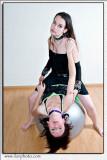 A photo session with Maria and Oksana