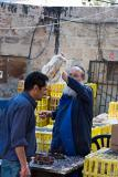 Waving the chicken over the believers head, Mea Shearim, Jerusal