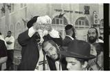 Vintage image of The Kaparot prayer, Mea Shearim, Jerusalem, Israel