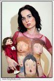 Porcelain Dolls - body paint and body art by Shlomit