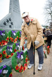 Remembrance Day in Pitt Meadows with Harvey and Bill 2010