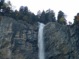 Top of the Staubbach Falls