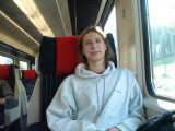 First Class travel on the SBB to Brig
