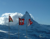 Matterhorn in the wind