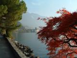 Montreaux - walking along Lake Geneva