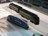 New from Athearn, painted FP-7's