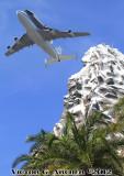 - Space Shuttle over Disneyland