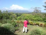 One of the vulcanoes on Isla de Ometepe