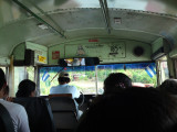 Bus on Isla de Ometepe