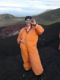 Ready for boarding down the vulcano!