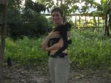 Both of us could do with a cuddle... El Jaguar animal refuge