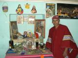 Quechua fortune teller in Huasao (my future looks bright)