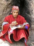 Quechua fortune teller
