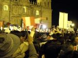 Election fever: right wing extremist Ollanta speaking in Cusco