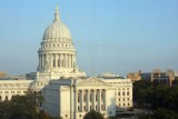 Capitol Building in Madison from the Governor's Club Hotel