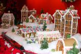 Wonderland Express - Gingerbread houses, Chicago Botanical Garden