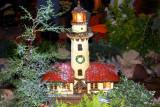 Wonderland Express - Lake Michigan Lighthouse, Chicago Botanical Garden