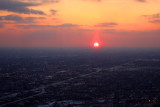 Chicago Sunset, from Sears Tower