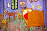 Vincent Van Gogh, The Bedroom in Arles, second version - 1889, Art Institute of Chicago