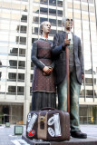 God Bless America by J. Seward Johnson, Chicago Public Art