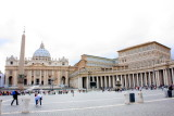 Piazza San Pietro (St. Peter's Square and Basilica), Vatican City