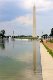 Washington Monument on the Reflection Pool, Washington D.C.