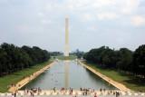 Washington Monument from Lincoln Memorial, Washington D.C.