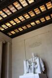Inside the Lincoln Memorial, Washington D.C.
