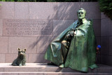 Roosevelt Memorial - hide and seek, Washington D.C.