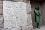 Roosevelt Memorial - Eleanor Roosevelt, Washington D.C.