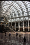 Inside the Ronald Reagan Building, Washington D.C.
