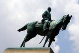 The statue of General William Tecumseh Sherman, Washington D.C.