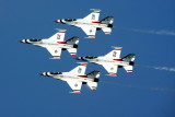 Chicago Air and Water Show 2009 - U.S. Air Force Thunderbirds - formation