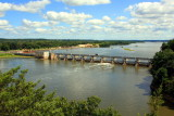 Illinois River from the Starved Rock State Park, IL