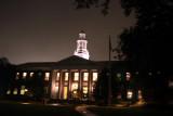 Harvard Business School at night, Boston